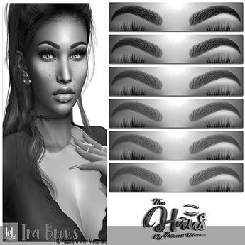 .:the-HAUS:. Ira HD Eyebrows w/ Materials (LeL + LeL Evo X) DEMO