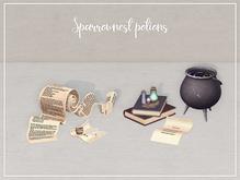 Raindale - Sparrownest potions