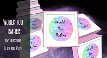 Chatterbox Would you rather - General