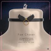 Swan Fae Choker Black