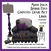 Miss Ing's D/T Country Chair Set