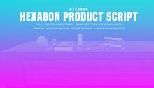 HEXAGON product script for creators