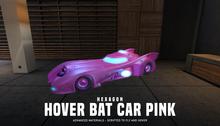 HEXAGON hover bat car - black & pink versions