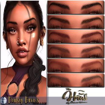 .:the-HAUS:. Daisy Eyebrow Applier & BOM (Genus)