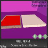 [MC] Square Brick Planter [add me]