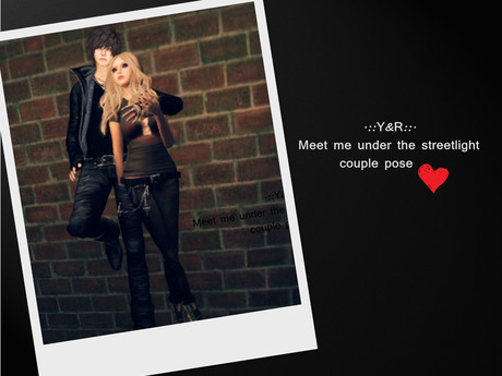 .::Y&R::. Meet me under the streetlight couple pose(boxed)