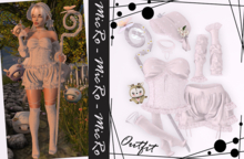 - MicRo - Outfit Cowgirl White