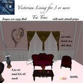 VICTORIAN LIVING TEA TIME-BOX