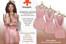 Orangerie - Valentine outfit - Pink