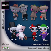 MOoH! Bear avy Bride & Groom
