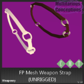 [MC] FP Mesh weapon strap {unrigged} [Add Me]