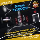 Nexus TARDIS - Hands of Omega (HoO) Console