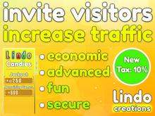 Lindo Candies - Invite Visitors - Increase Traffic (Tax:10%)