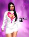 XK Maitreya Open Hearts Mini Dress White