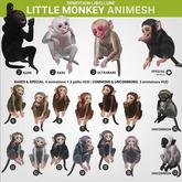 SEmotion Libellune Little Monkey Animesh #2 RARE