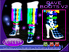 Jetcity-Knee High Rave Boots V2