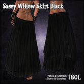[Sassy Kitty Designs] Willow Skirt Black