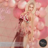 .:FlowerDreams:. Margot Lingerie - red