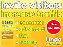 Lindo Candies - Invite Visitors - Increase Traffic (Tax:30%)