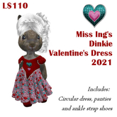 Miss Ing's Dinkie Valentine's Dress Set 2021
