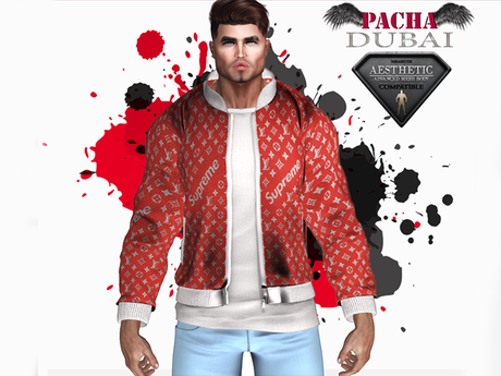 PACHA_AESTHETIC_ Jacket (Red)