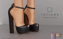 Ohemo - Tatiana sandals blockheels - FATPACK (Add me)