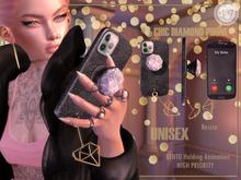 #187# Chic Diamond Phone *Holding*