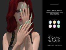 K.D Sissy Nails - Wear me/Touch me