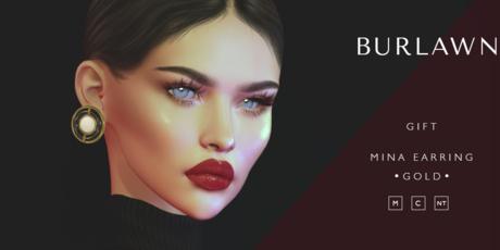 Burlawn - Mina Pearl Earring - Gift