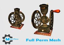 Mesh Place - Vintage Coffee Grinder - Full Perm Mesh