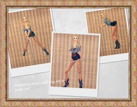 .::Y&R::.Madonna pose set(boxed) It's free~