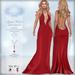 *Lurve* Cupid's Heart Gown in Red - Maitreya - Belleza - Slink - TMP Legacy - TMP