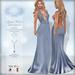 *Lurve* Cupid's Heart Gown in Blue - Maitreya - Belleza - Slink - TMP Legacy - TMP