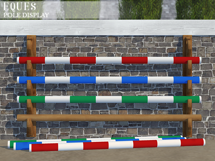 eques . pole display