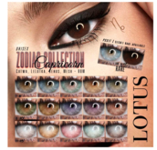 LOTUS. Capricorn Eyes 13 BOX