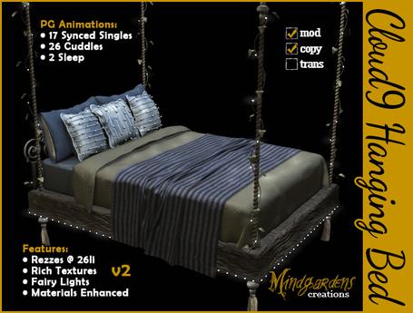 MG - Cloud9 Hanging Bed v2 (PG)