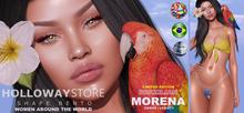 HOLLOWAYSTORE SHAPE BENTO-MORENA BRAZILIAN-GENUS/LEGACY