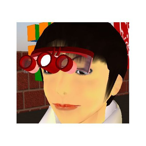 Surgical Loupes (Red) On Nose