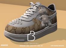 -TB- Diamond Bear Sneakers - Goochi