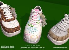 -TB- Diamond Bear Sneakers - FATPACK