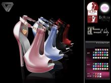 Valentine Sale - ILLI - [Maitreya,Belleza,SLink,TMP] Amarissa High Heels (HUD Driven)