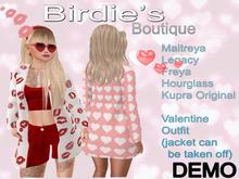 Birdie's Boutique - Valentines Outfit DEMO