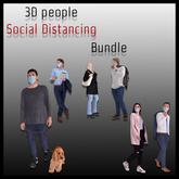 MESH PEOPLE -SOCIAL DISTANCING(WEAR)