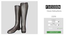 [FUSION] Xander Classic Riding Boots. - Cedar - Maitreya