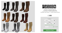 [FUSION] Kid's Classic Riding Boots. - FATPACK