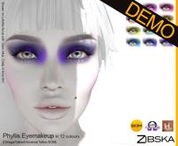 Zibska ~ Phyllis Eyemakeup Demo [Omega applier, tattoo & universal tattoo BOM]