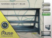 .:: Muse Creations ::. Garden Shelf Blue (sculpted)