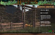 [Harshlands] Rustic Fences