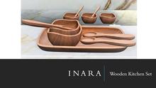 [ID] Wooden Kitchen Set