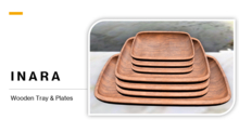 [ID] Wooden Tray & Plates